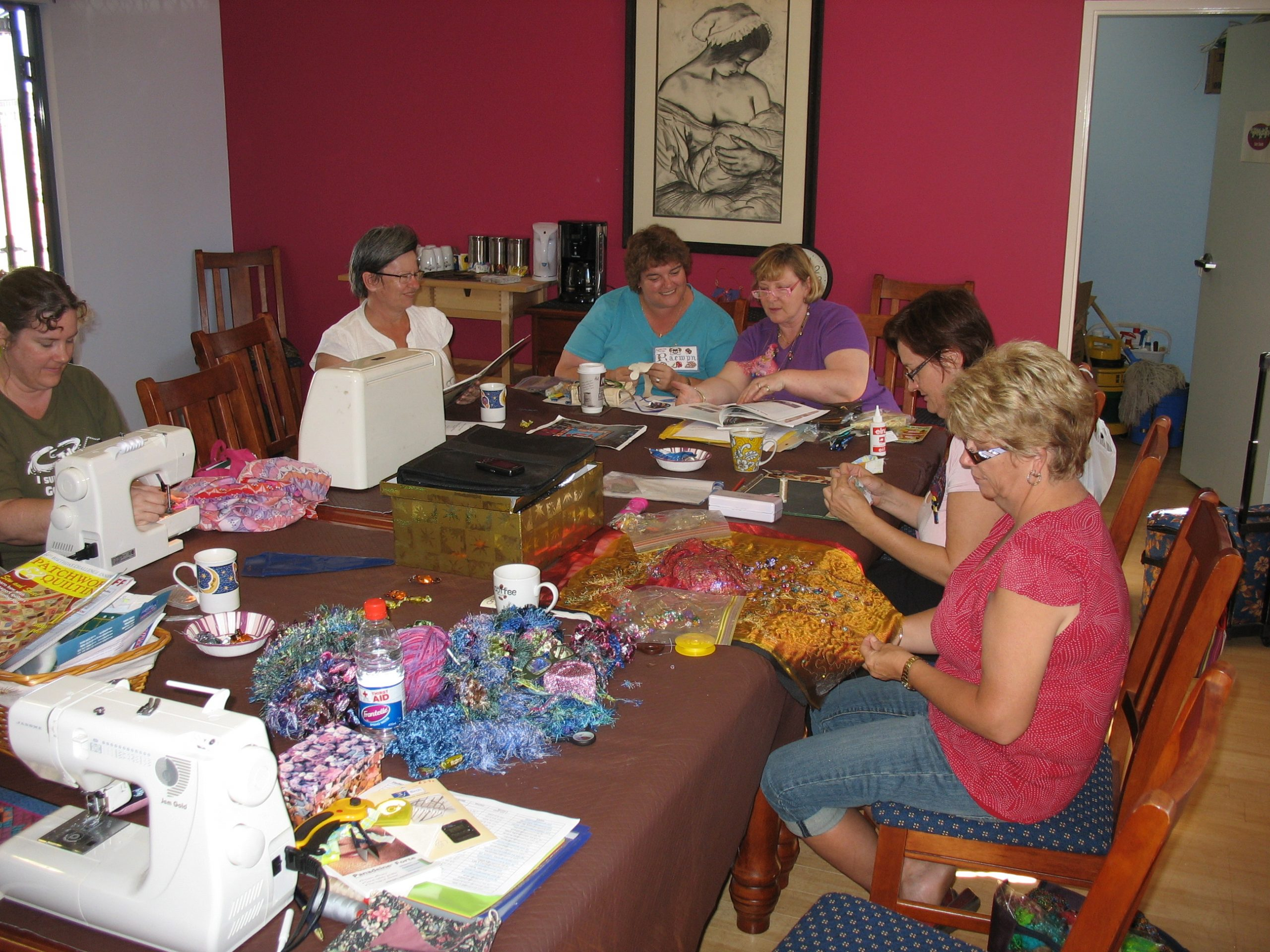 Patchwork and Quilters Community Group in Hedland
